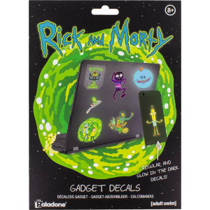 Rick and Morty Gadget Aufkleber