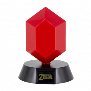 The Legend Of Zelda: Red Rupee Icon Light 3D Licht