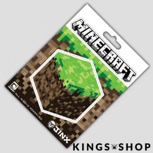 Minecraft Sticker Dirt Block