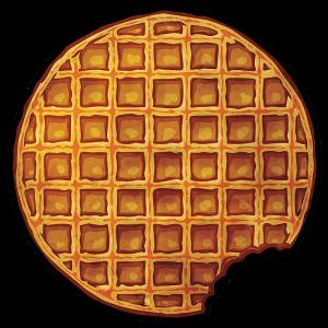 """KingsGlass """"Bitten Waffle"""""""