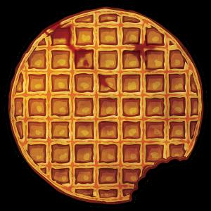 """KingsGlass """"Bloody Bitten Waffle"""""""