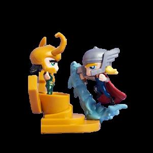 """Marvel Collector's Series """"Thor vs. Loki"""" Minifigur"""