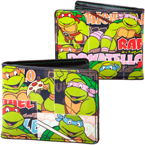 Teenage Mutant Ninja Turtles Vintage Classic Wallet