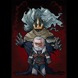 """The Dark Hunt"" Premium-Artprint"