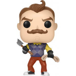 Funko POP! Games Hello Neighbor Figur Neighbor with Axe & Rope