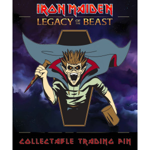 Iron Maiden Legacy of the Beast Sammel-Pin Vampire Hunter Eddie