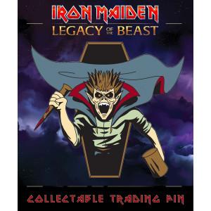 Iron Maiden Legacy of the Beast Sammel-Pin Vampire Hunter Eddie