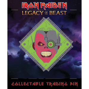 Iron Maiden Legacy of the Beast Sammel-Pin Cyborg Eddie