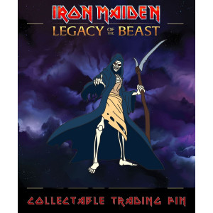 Iron Maiden Legacy of the Beast Sammel-Pin Reaper Eddie