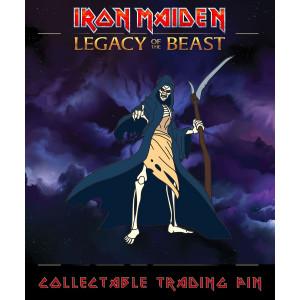 Iron Maiden Legacy of the Beast Sammel-Pin Reaper Eddie