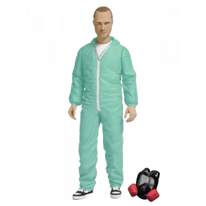 Breaking Bad Actionfigur Jesse Pinkman in Blue Hazmat Suit Previews Exclusive