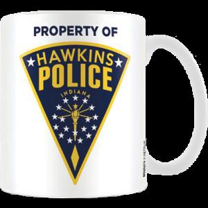 Stranger Things Tasse Hawkins Police Badge