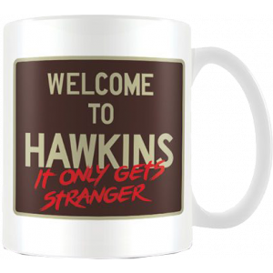 Stranger Things Tasse Welcome to Hawkins