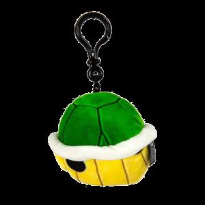 Nintendo Mario Kart Mocchi-Mocchi Plüsch-Anhänger Grüner Panzer