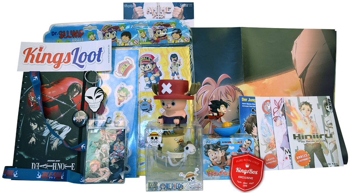 Loot aus der Box Mai 2016 - Anime Loot