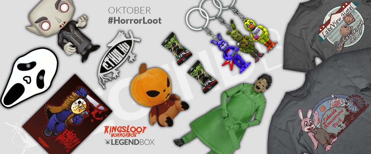 Inhalt der LegendBox Horror Loot