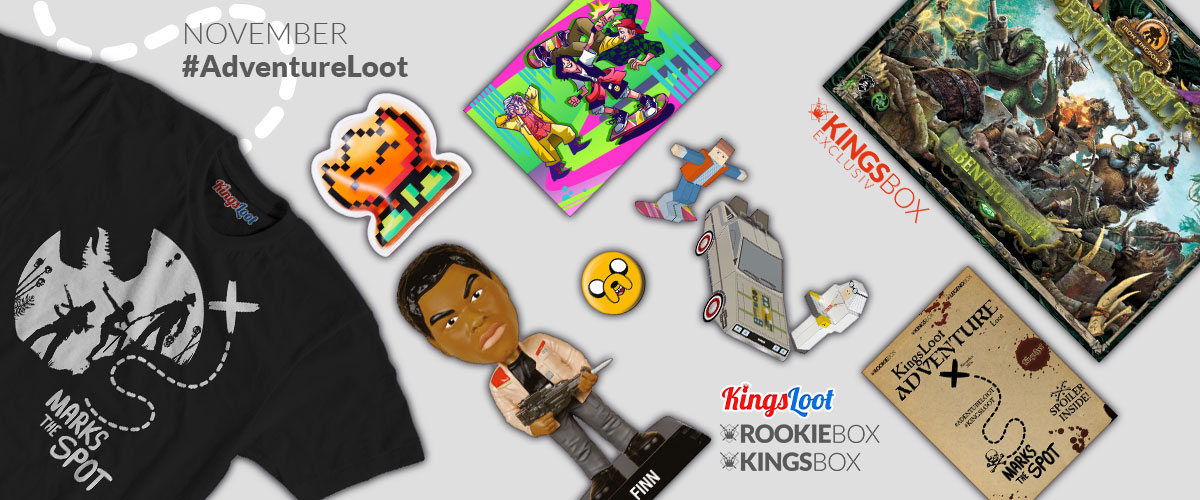 Inhalt der RookieBox und KingsBox Adventure Loot