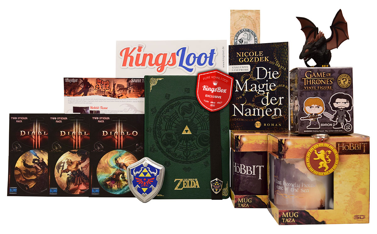 Loot aus der Box Februar 2016 - The dark Age