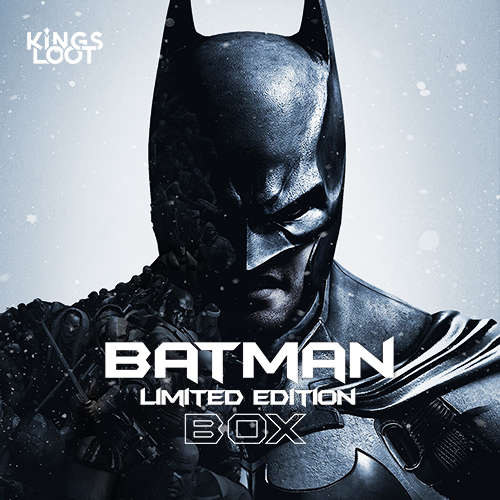BATMAN Limited Edition Box