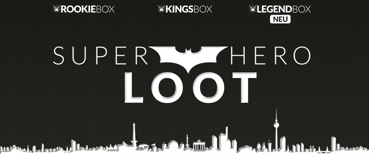 KingsLoot Monatsthema Juli 2016 - Super Hero Loot