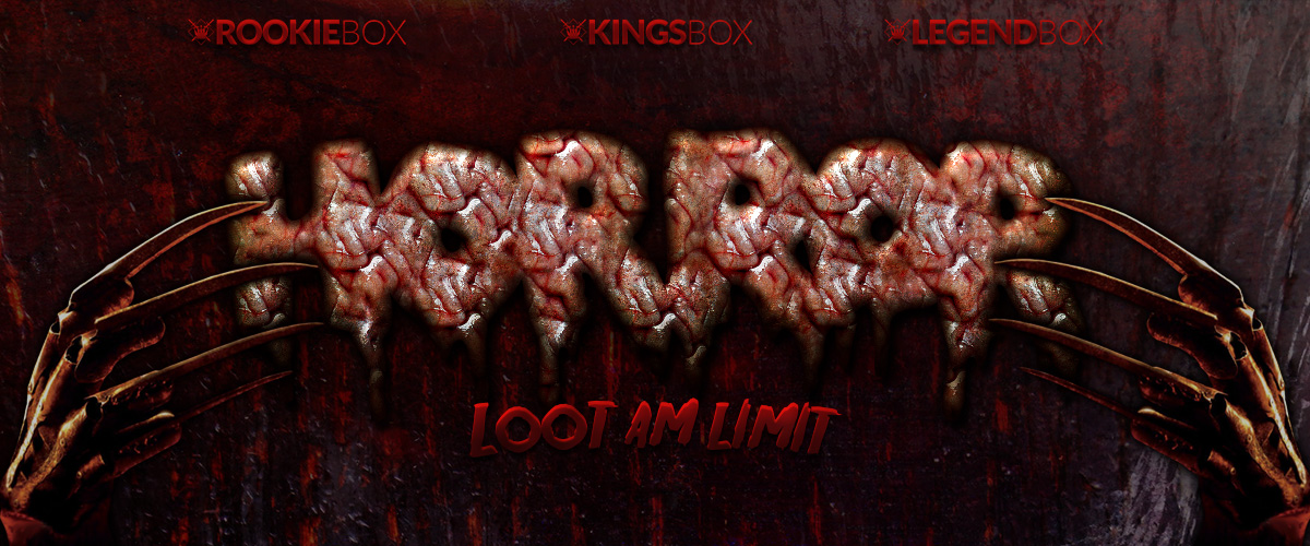 KingsLoot Monatsthema September 2016 - Horror Loot