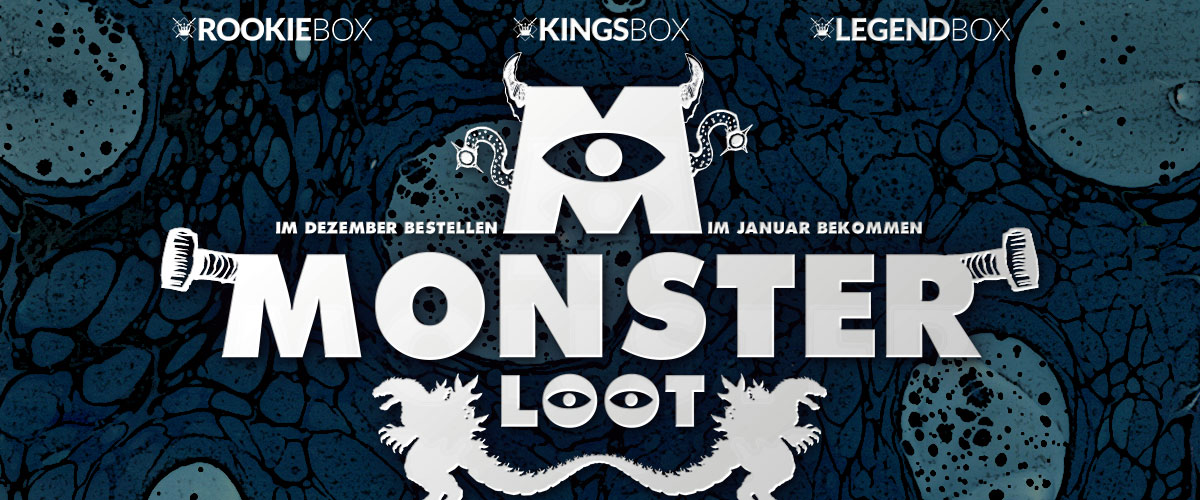 Kingsloot Monatsthema Dezember 2016: Monster Loot