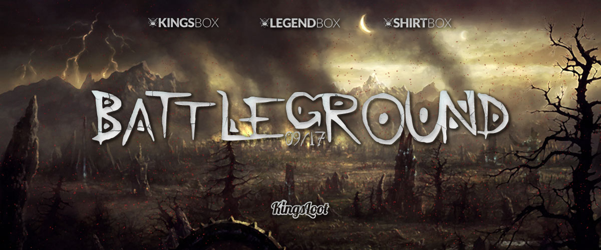 Kingsloot 2017-08: Battleground