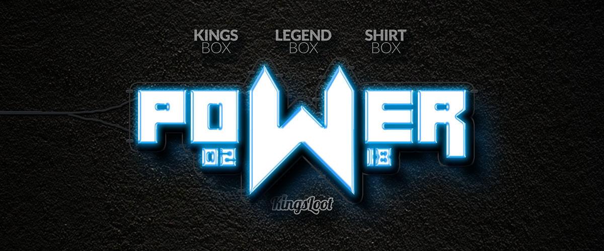 Kingsloot 2018-01: Power