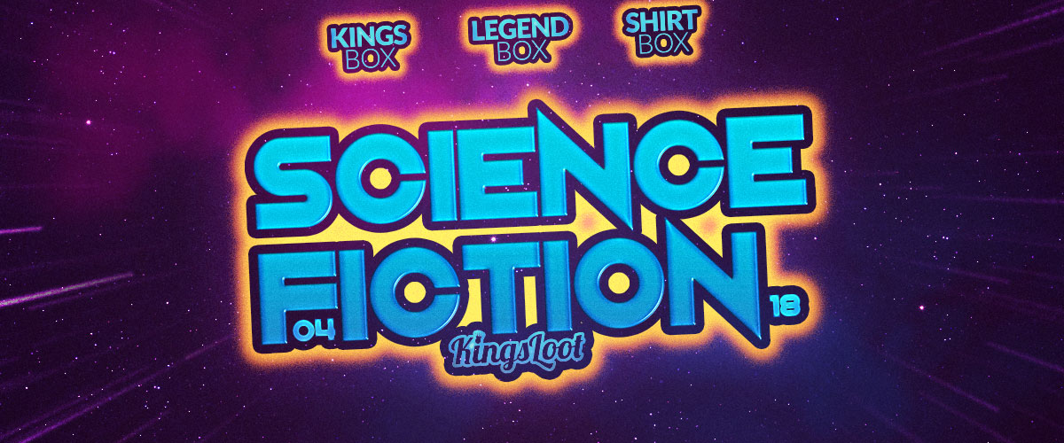 Kingsloot 2018-03: Science Fiction