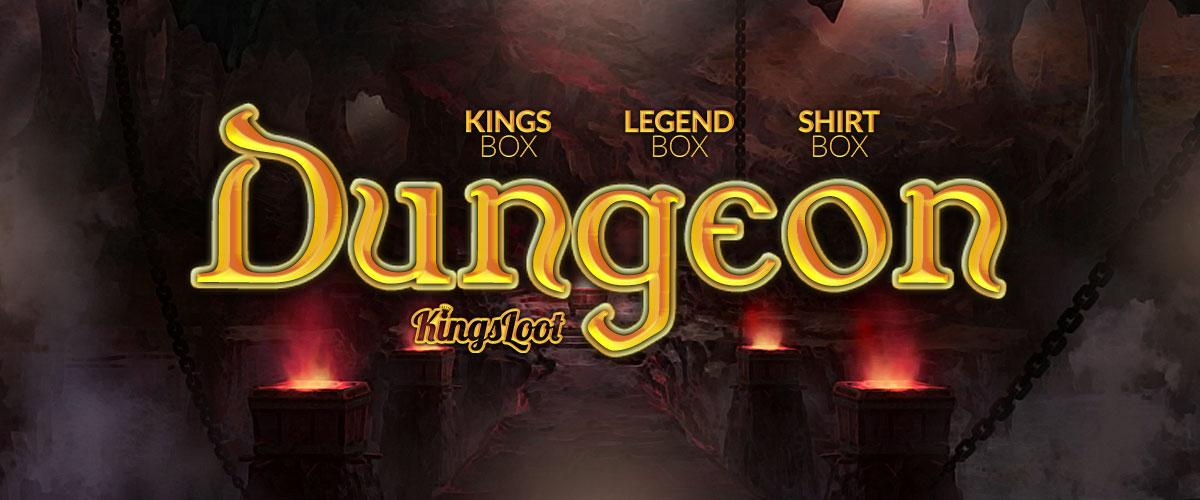 Kingsloot 2018-04: Dungeon