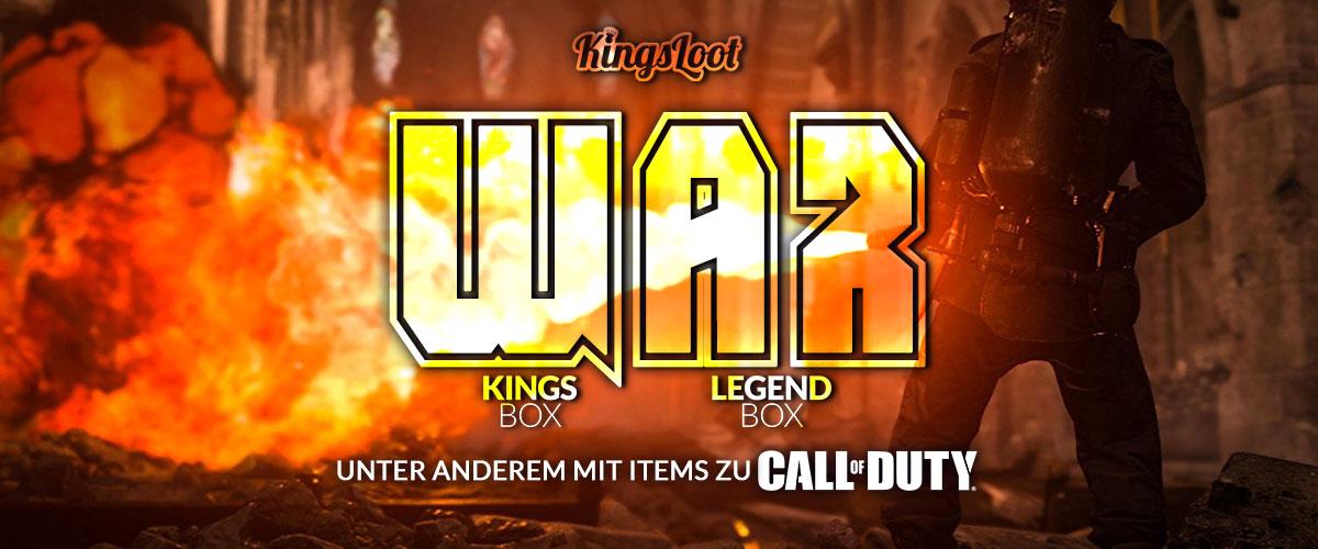 Kingsloot 2018-05: War
