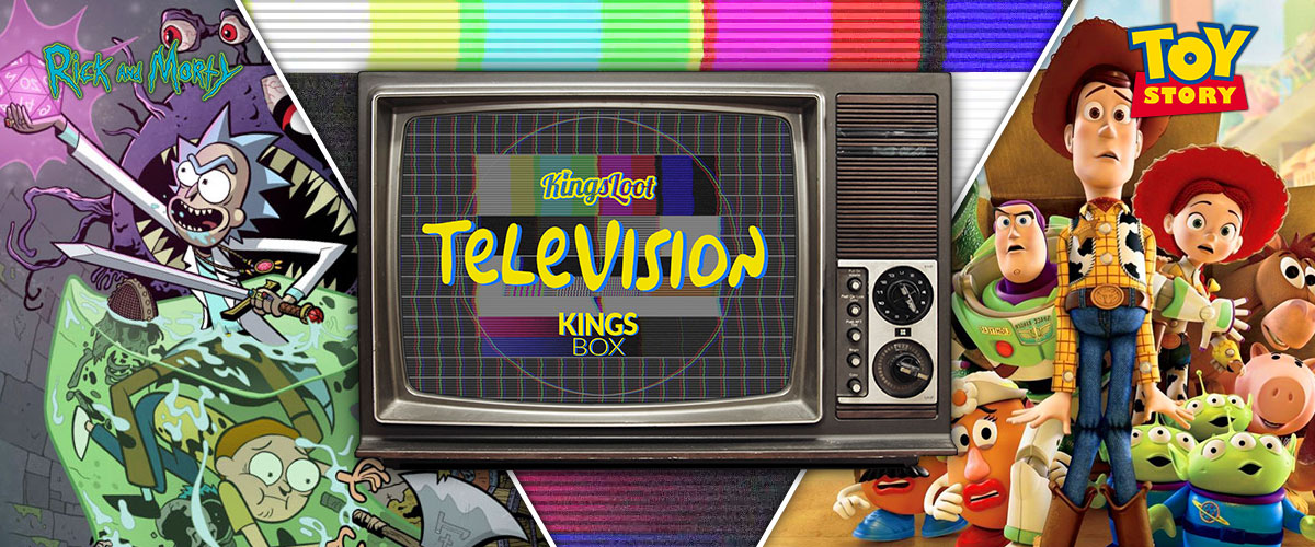 KingsLoot 2019-08: Television