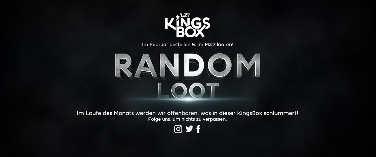 KingsLoot 2020-02: Random Loot