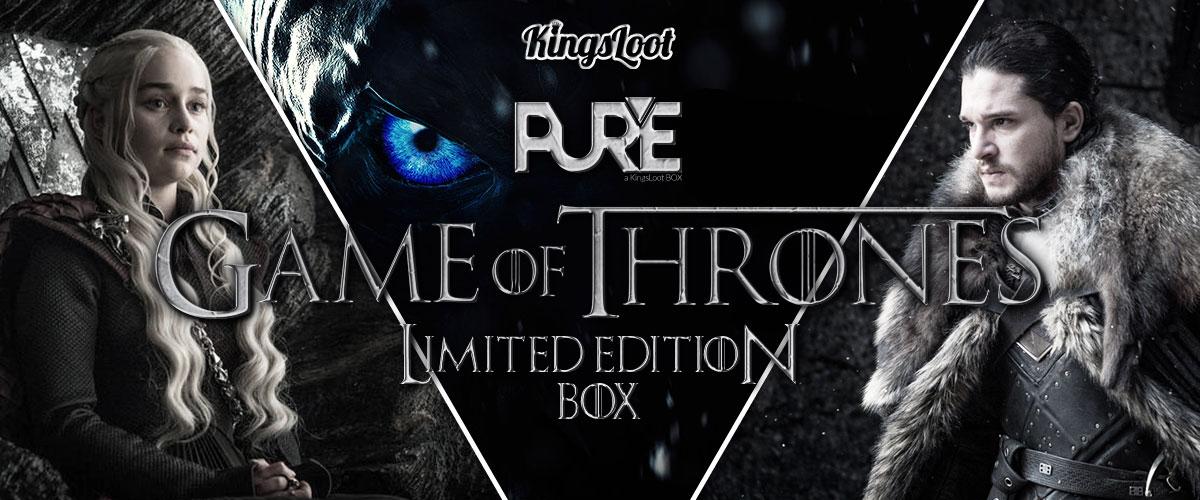 KingsLoot PureBox Game of Thrones